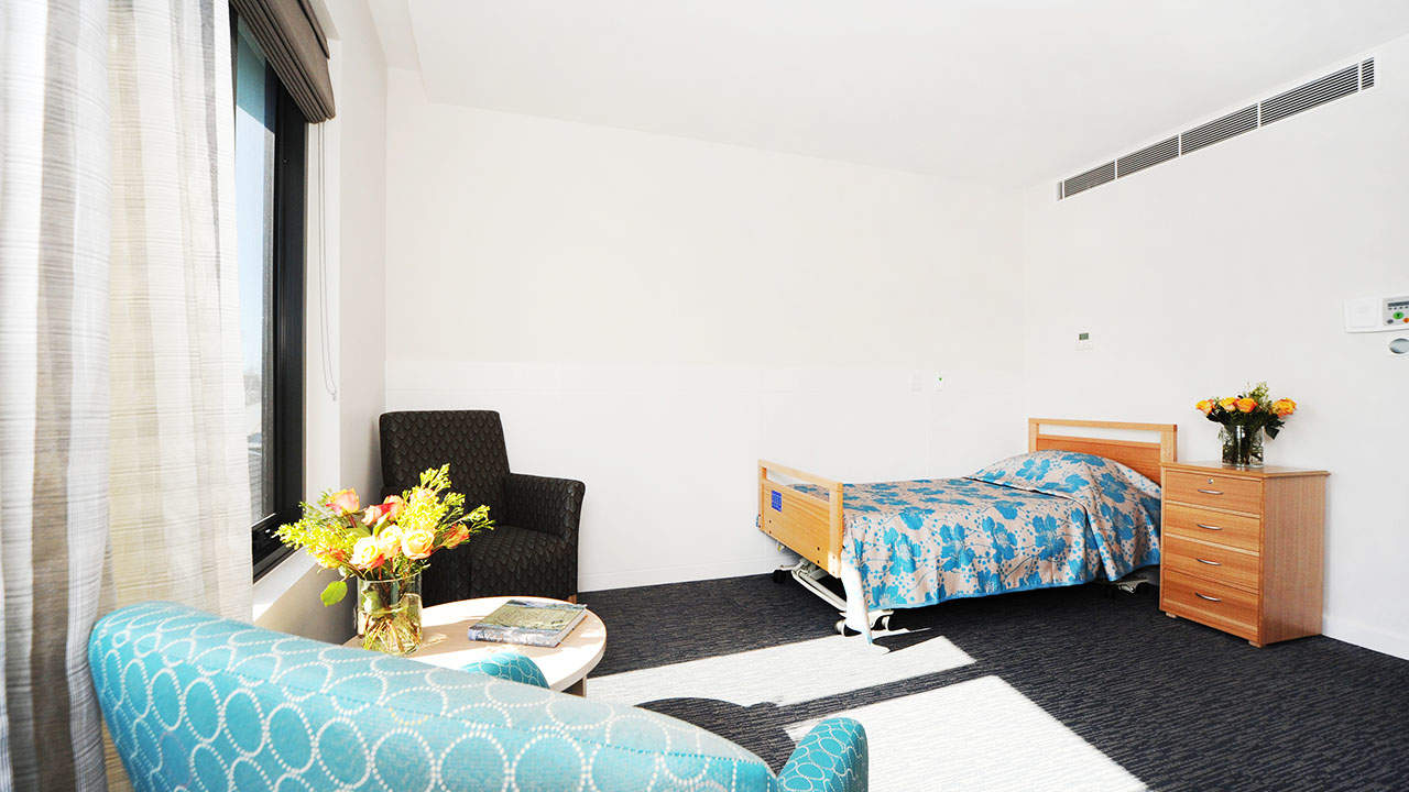 resident's bed room