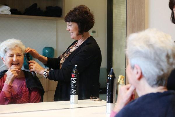 hair dressing for residents
